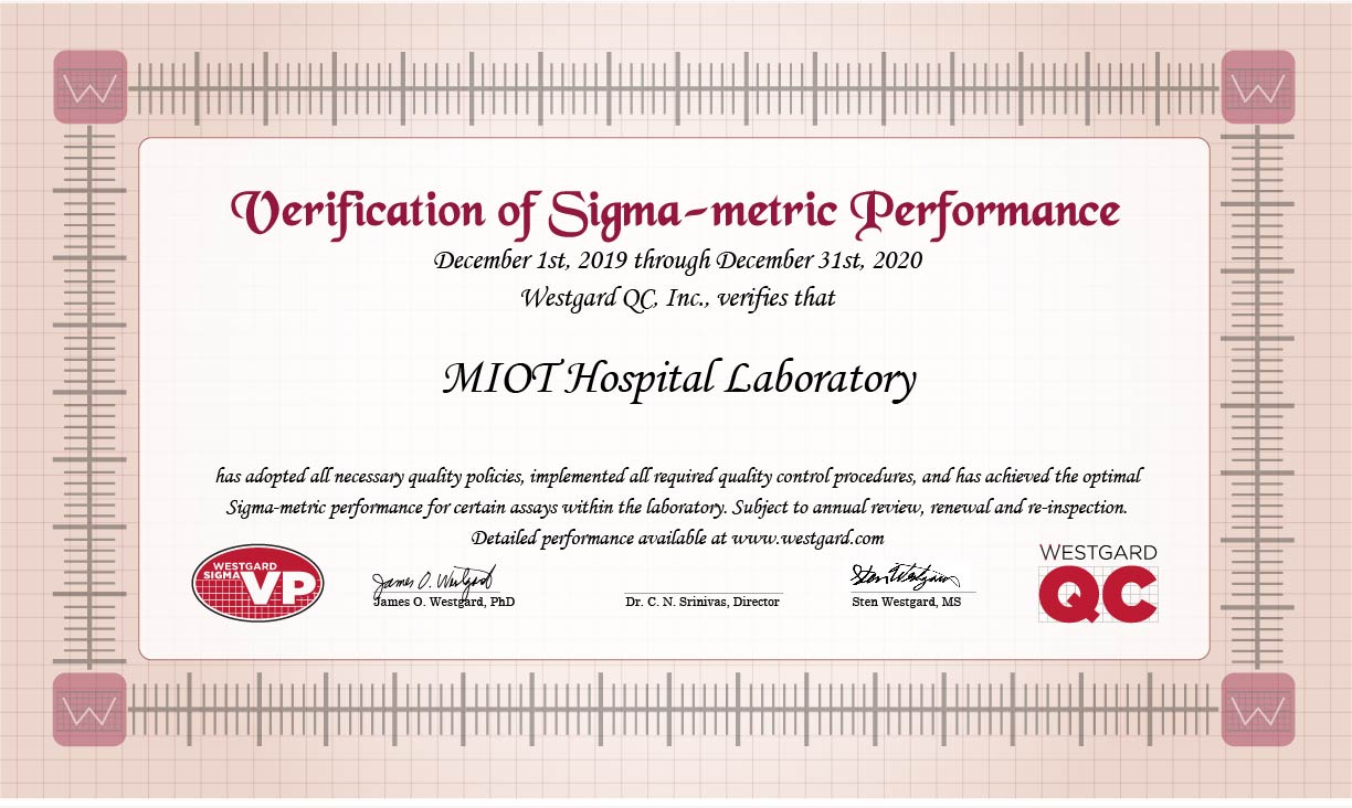 Sigma VP Verification Certificate MIOT 2019 2020 small