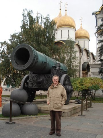 Dr. Westgard at the Kremlin