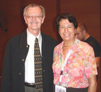 Dr. Westgard and Dr. Carmen Ricos, of Spain