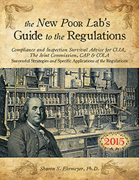 The New Poor Lab's Guide to the Regulations - 2015 edition